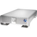 G-Tech 0G04023 G-DRIVE Thunderbolt 2 USB 3.0 7200RPM SATA III Professional Hard Drive - 6TB - Silver