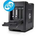 G-Tech 0G10141 G-SPEED Shuttle Thunderbolt 3 Transportable 4-Bay RAID with 2 ev Series Bays 20TB