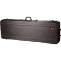 Gator GKPE-61-TSA ATA Molded PE Case w/ TSA Latches & Wheels for 61 Note Keyboar