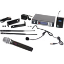 Galaxy ECDR/38SSD ECD Wireless Dual Headset Microphone System