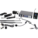 Galaxy ECDR/38SSL ECD Wireless Dual Headset Microphone System