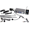 Galaxy ECDR/38SVL ECD Wireless Headset/Lavalier Microphone System