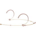 Galaxy HSM3-OBG-4MIXED Headset Mic 4 Cables-Mixed - Omni - Beige