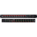 Galaxy Audio RM-10 Rack Mount 10 Channel Mixer 1 RU