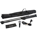 Galaxy Audio RT-66XD Microphone with Stand/Clip/Bag/15 Ft. Cable