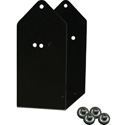 Galaxy Audio SAYBLA4-0 Black Speaker Mount Bracket Accessory for item GXY-LA4DPM