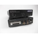 Multidyne HD-3521-GE-RX-ST-S PTZ Receiver: One-way 3G-SDI Gigabit Ethernet 2 Ch RS232/422 & return genlock/sync
