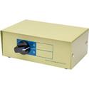 High Density 15 Pin AB VGA 1X2 Switchbox