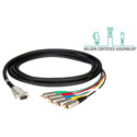 Laird HD5RCA-15HDM-3 Belden/Kings HDTV 5Channel RCA Male to VGA Male Cable 3Ft