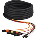 2 Channel HD-SDI Video and 4-Channel XLR Audio Snake Cable 200 Foot