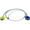 NTI HDUSBVEXT-10-MM VGA to VGA & USB Cable - Male to Male - 10 Feet