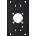 Camplex HF-2RFP-SMPTE Pre-Punched Front Panel for LEMO SMPTE Plug for use in HYMOD-FR2 Frame