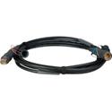 Camplex HFO SMPTE Hybrid Fiber Optic Camera Cable Canare FCFA-FCMA M-F 6 Foot