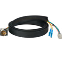 Camplex FCS015A-MR Canare Hybrid Fiber Optic Receptacle Cable SMPTE/ARIB w/ LC - Male 1ft