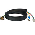 Camplex FCS015A-MR Hybrid Fiber Optic Receptacle Cable SMPTE/ARIB w/ ST - Male 1