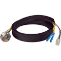 Camplex FCS015A-FR Canare Hybrid Fiber Optic Receptacle Cable SMPTE/ARIB w/ LC - Female 6ft