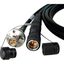 Camplex LEMO FMW-PUW UL Listed CMR SMPTE Fiber Camera Cable - 25 Foot