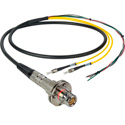 Camplex LEMO FMW to Dual ST & Blunt Lead In-Line Fiber Breakout 6 Foot