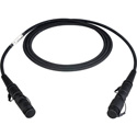 Camplex LEMO FUW-PUW with Lightweight Gepco Mini  7.8mm Bend Insensitive SMPTE 311 Fiber Camera Cable - 15 Foot