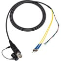 Camplex LEMO FUW to Dual ST & Blunt Lead In-Line Fiber Breakout 6 Foot