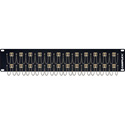 Camplex HF-LC24-DXMM 24-Port LC Duplex Multimode Feed-Thru Panel
