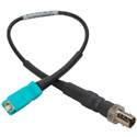 Camplex ST Female to SC Male OM3 Multimode Fiber Tactical Adapter Cable 6 Inch