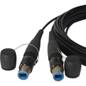 Camplex opticalCON DUO to DUO Singlemode Fiber Optic Tactical Cable - 100 Ft