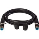 Camplex opticalCON QUAD Singlemode X-TREME Tactical Fiber Cable 100 Foot