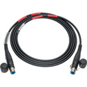 Camplex opticalCON DUO SMPTE 311 Singlemode Fiber Optic Cable - 3 Foot