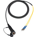 Camplex LEMO PUW to Dual ST In-Line Fiber Optic Breakout Cable - 6 Foot