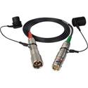 Camplex HF-STEADICAM-06 LEMO FUW-PUW Low Profile 4.2mm SMPTE Hybrid Fiber Steadicam Camera Cable - 6 Foot