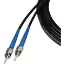 Camplex TAC1 Simplex OM1 Multimode ST Fiber Optic Tactical Cable 10 Foot