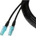 Camplex TAC1 Simplex OM3 Multimode LC Fiber Optic Tactical Cable 10 Foot