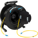 Camplex 2-Channel LC Singlemode Fiber Optic Tactical Snake on Reel 250 Ft
