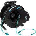 Camplex 2-Channel SC Multimode OM3 Fiber Optic Tactical Reel - 1250 Foot