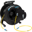 Camplex 2-Channel ST Single Mode Fiber Optic Tactical Snake on Reel 250 Ft