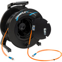Camplex 2-Channel ST Multimode OM1 Fiber Optic Tactical Reel - 250 Foot