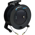 Camplex TAC1 Simplex 1-Channel OM1 Multimode SC Fiber Optic Tactical Cable Reel 1000 Foot
