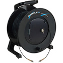 Camplex TAC1 Simplex 1-Channel OM1 Multimode ST Fiber Optic Tactical Cable Reel 1000 Foot