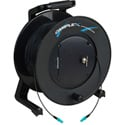 Camplex TAC1 Simplex 1-Channel OM3 Multimode LC Fiber Optic Tactical Cable Reel 1000 Foot