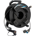Camplex opticalCON DUO to LEMO PUW SMPTE 311 SM Fiber Optic Reel 100 Foot