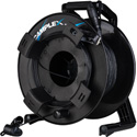 Camplex HF-TROCL2M-0100 opticalCON LITE DUO to DUO Multimode Fiber Optic Tactical Cable Reel - 100 Foot