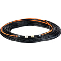 Camplex 2-Channel LC Multimode OM1 Fiber Optic Tactical Snake - 25 Foot