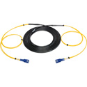 Camplex 2-Channel SC-Single Mode Tactical Fiber Optical Snake