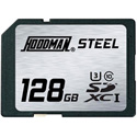 Hoodman RAWSDXC128GBU1 Steel Secure Digital High Capacity 128GB UHS-1