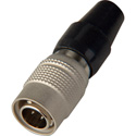 Hirose HR10A-7P-4P 4-Pin Male Push-Pull Connector with 7mm Male Shell
