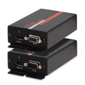 Hall Research HR-731 HDMI and RS-232 Fiber Optic Extender
