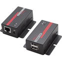 Hall Research U22-160 USB 2.30 over UTP Extender with 2 Port Hub