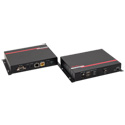 Hall Research UH2X-P1 HDMI USB LAN over UTP Extender with HDBaseT and PoH (Sender & Receiver)