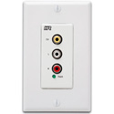 Hall Research VSA-C-DP Composite & Audio Input Decora Plate for VSA System